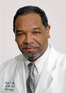 Dr. Gregory A. Antoine, a 1972 JSU graduate who is an expert in plastic and reconstructive surgery.