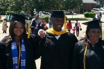 The Ngwukdikes at JSU's 2013 commencement.