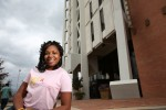 Senior business major Prisca Patrick has launches her own nonprofit, Purpose for Life, which raises awareness and support for the two causes that have shaped her life  childhood cancer and the perils of drunk driving.