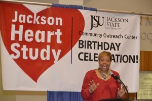 Jackson Heart Study birthday celebration