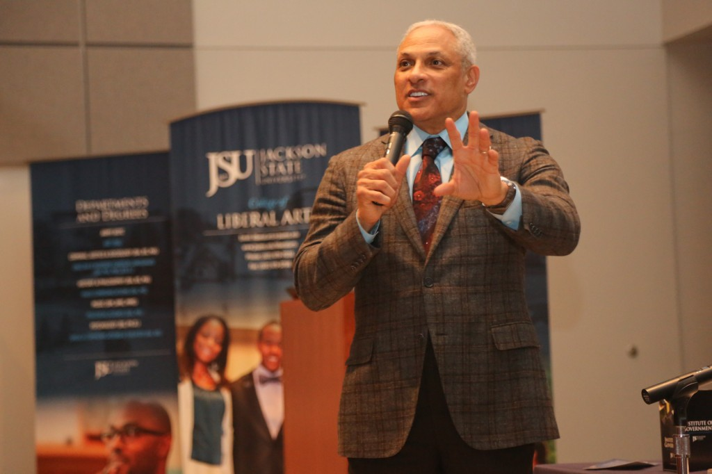 2014.3.21 Mike Espy at Institute of Govenment-9724