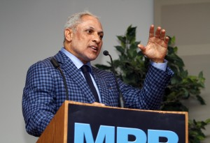 Former U.S. Agriculture Secretary and U.S. Congressman Mike Espy