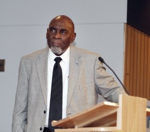 Visiting Professor Sylvester Murray served as symposium facilitator.