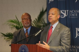 Homeland Security Secretary at JSU sized-0264