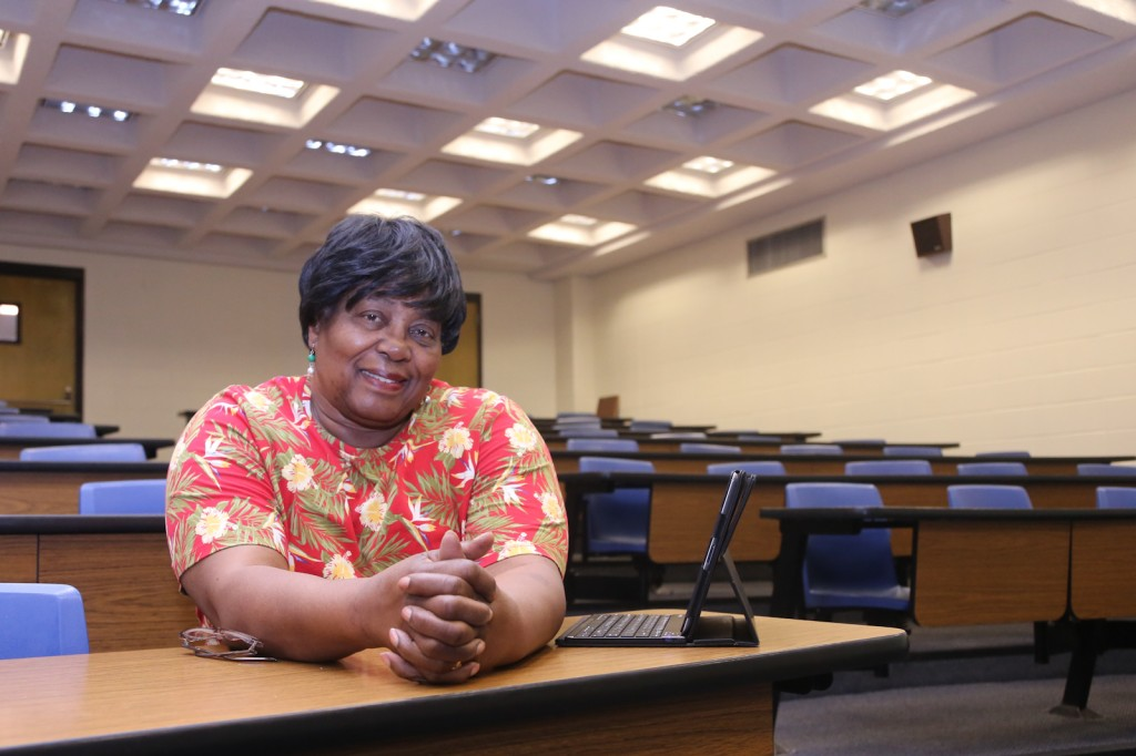 Ruthie Jackson is among 96 participants who will be inducted into JSU's Seniors College on Thursday, April 17.