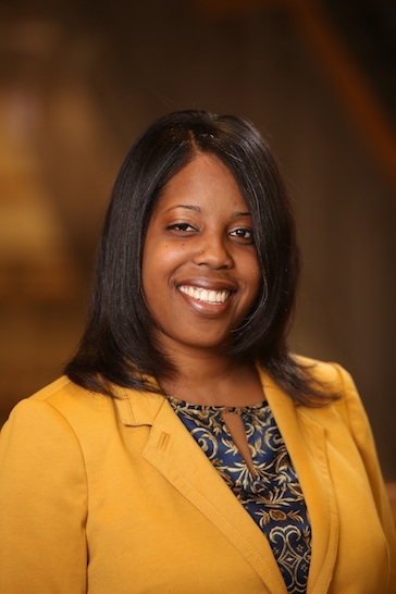 Dr. Brandi Newkirk-Turner, interim associate provost for the Division of Academic Affairs, has been helping to facilitate discussions aimed at enhancing the virtual environment at JSU. (Photo by Charles A. Smith/JSU)