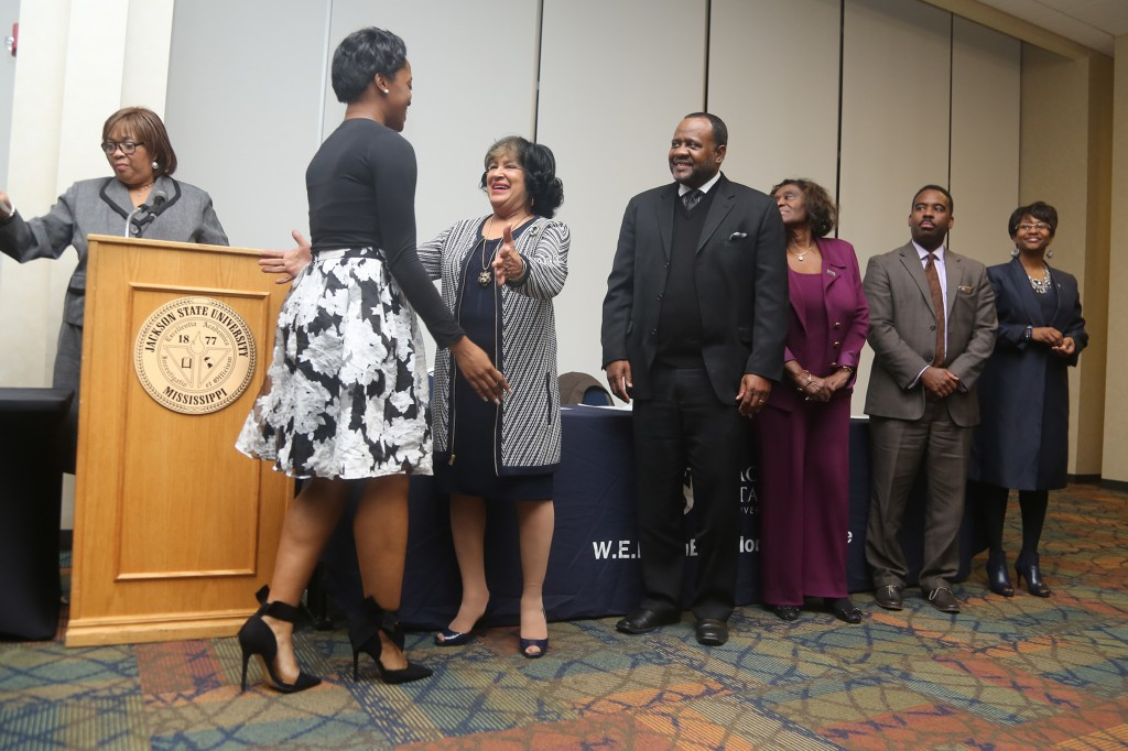 Pinning ceremony honors JSU student scholars | Jackson ...