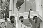 Protesters show solidarity after unrest at Jackson State College in 1970.