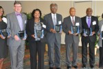 Inductees into the JSU Meteorology Hall of Fame.