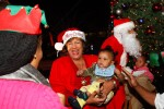 Holiday Under the Stars is a free public event that features refreshments and family activities with Santa Claus and Mrs. Claus. (Photo by Charles A. Smith/JSU)