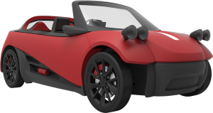Could 3-D auto production be part of JSU's future? Dr. Robert Blaine, dean of Undergraduate Studies and CyberLearning at JSU, says he thinks so. The above photo is a rendering by an innovative Arizona company, Local Motors, which is at the forefront of such technology.