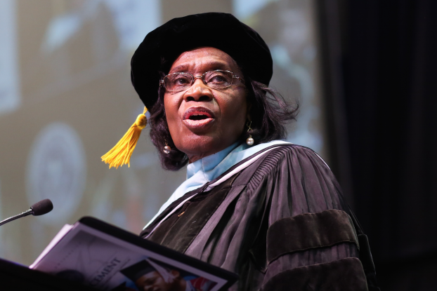 Dr. Evelyn J. Leggette, provost and senior vice president for academic affairs
