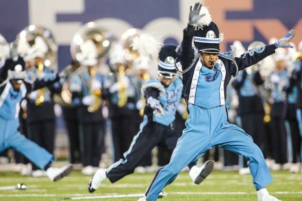 The Sonic Boom of the South is known for their high-energy, high-stepping, fiery performance style. (Photo by Charles A. Smith)