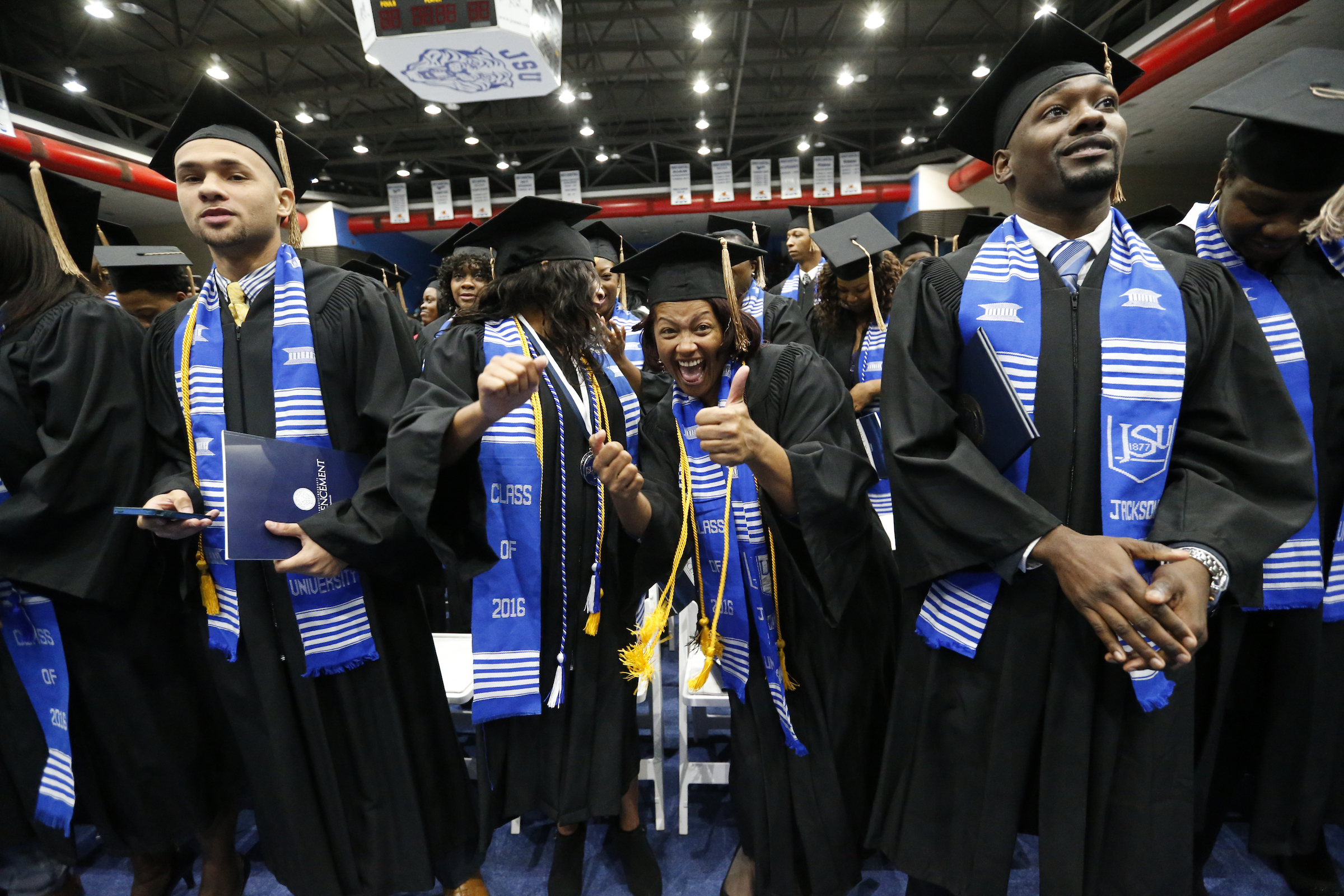 Jackson State University awarded over 400 degrees during their 2016 Fall commencement. (Photo by Charles A. Smith/JSU)