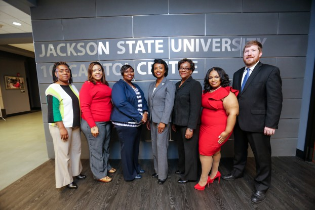 The 2016 fall cohorts in JSU's Institute of Government's Public Management and Leadership Certificate Program successfully completed their requirements in December. Courses are held in the 101 Downtown Campus. (Photo by Charles A. Smith/JSU)