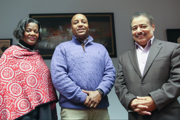 Dr. Pamela Banks, chair of the clinical psychology department, Dr. Bryman Williams, director of clinical training and Dr. Mario J. Azevedo, dean of the College of Liberal Arts (Photo by Kentrice Rush/JSU)
