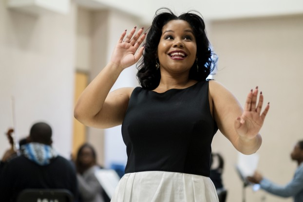 Hillary Watkins, a senior vocal performance major at JSU, traveled to Italy last summer to perform the lead role in an opera. (Charles A. Smith/JSU)