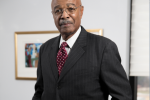 JSU interim President Dr. Rod Paige has a long history in education. (Photo by Charles A. Smith/JSU)