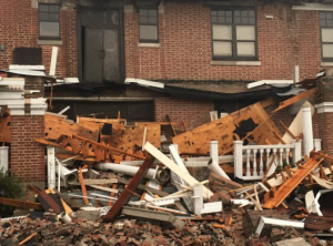 A devastating tornado wreaked havoc late last month on a number of buildings on the campus of William Cary College in Hattiesburg.