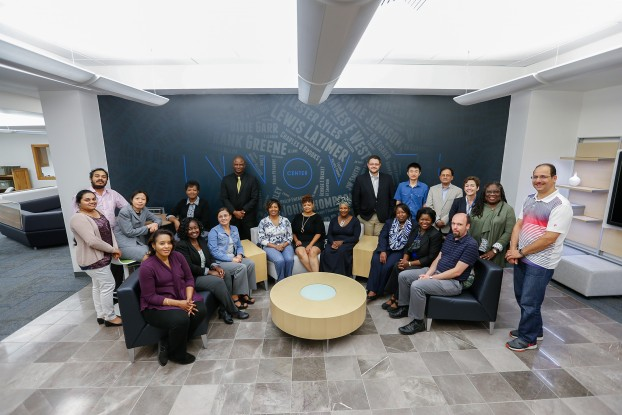 The fifth cohort of Jackson State University's Academy for Research & Scholarly Engagement has concluded its 2016 - 2017 year. (Charles A. Smith/JSU)