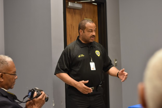 "Jackson Police Department Chief Lee Vance said, ""When mental illness intersects with criminal behavior … some tactics can run afoul of the law."" (Photo by William Kelly III/JSU)"