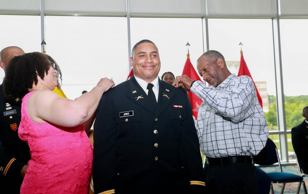 Second Lt. Ezra Jones of Woodville, Miss.: master of science degree in public health administration from JSU's School of Public Health. (Photo by Kentrice S. Rush/JSU)