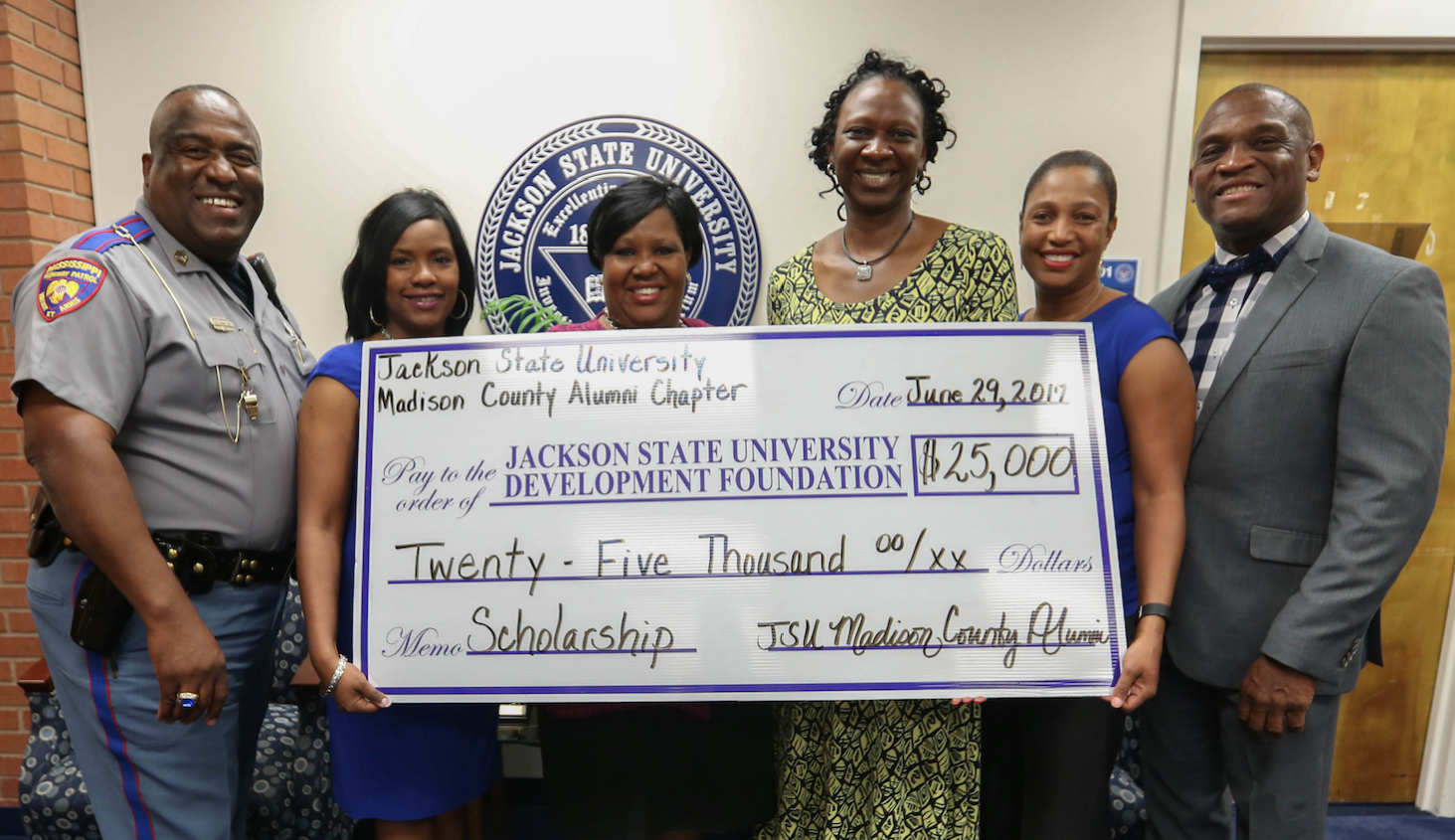 MC Endowment Check Presentation