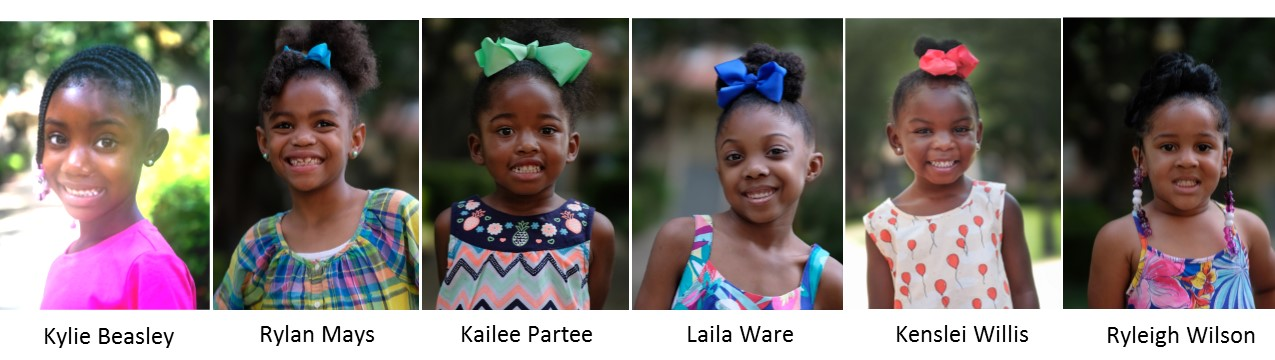 2017 Little Miss JSU Constestants - First Set