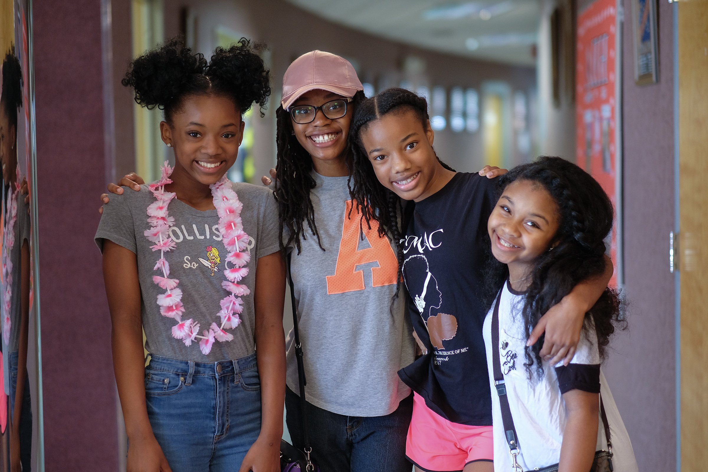 Students are all smiles at Jackson State University's Summer Theatre Camp. (Photo by Charles A. Smith/JSU)