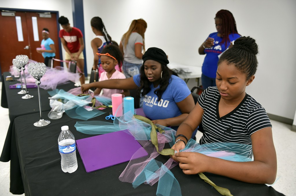In July, Camp Fabulous completed its seventh year of enriching and inspiring girls and teenagers to fulfill their dreams. (Justin Sellers/The Clarion Ledger)