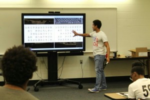 "Students learned about the Japanese language, arts and customs during ""Japan Day"" last Friday."