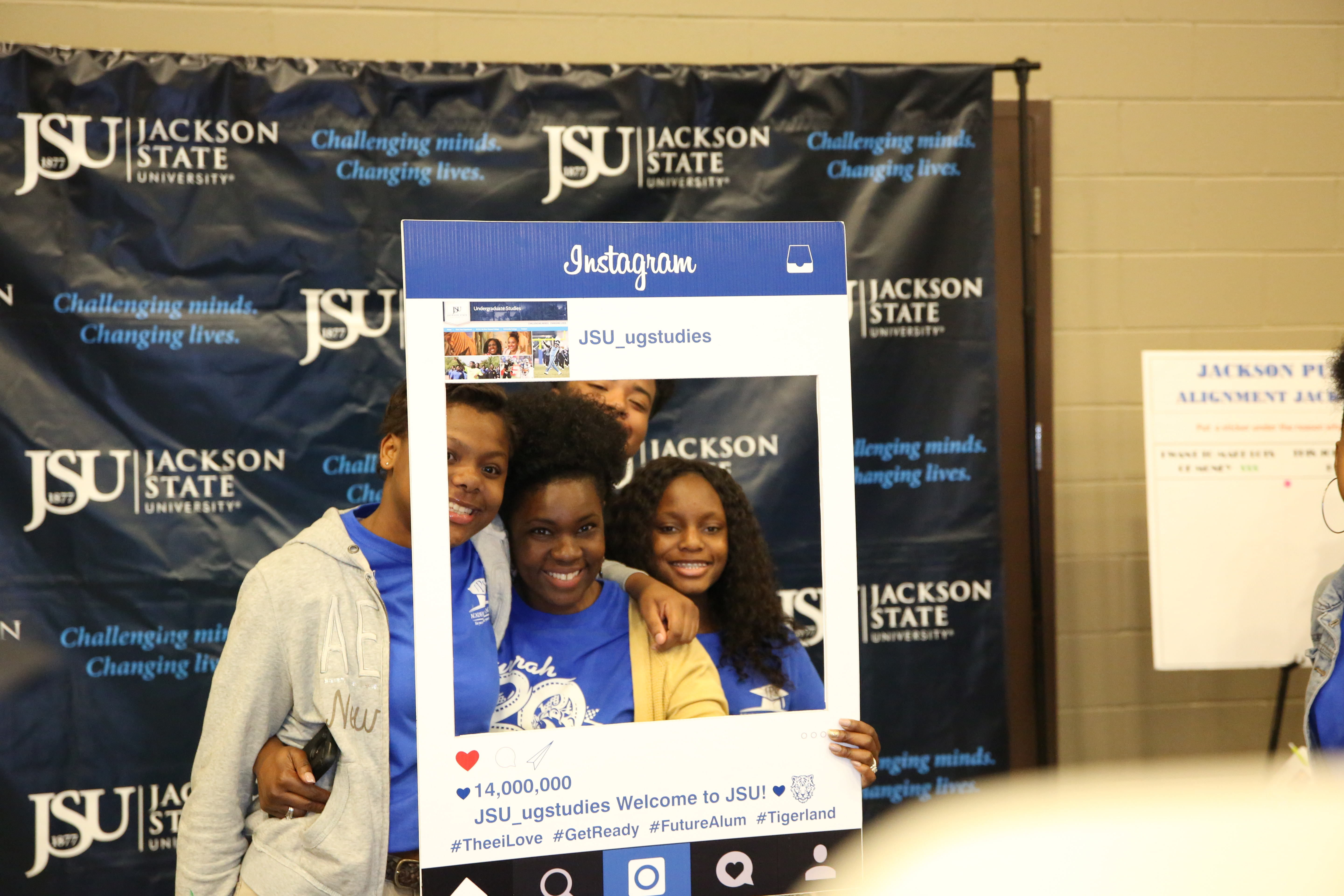 Jackson Public Schools ninth-graders attend a career fair hosted by United Way Central Area and supported by Jackson State University. (Photo by Spencer L. McClenty/JSU)