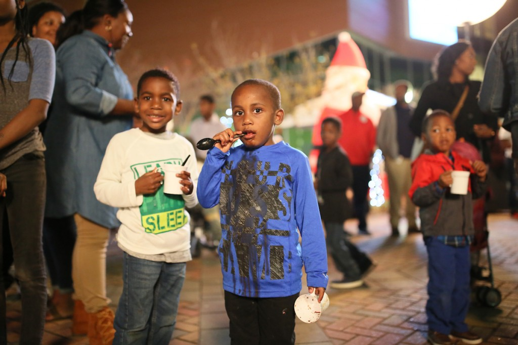 Hot chocolate is always a satisfying treat. (Photo by Aron Smith/JSU)