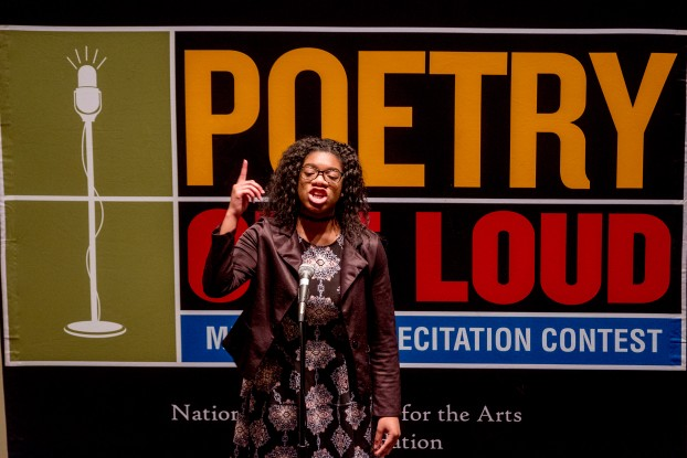 Poetry Out Loud 2018 (Charles A. Smith/University Communications)