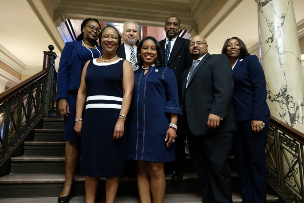 JSU staffers and alums spoke proudly about JSU and helped the urban institution push its legislative agenda. (Photo by Charles A. Smith/JSU)