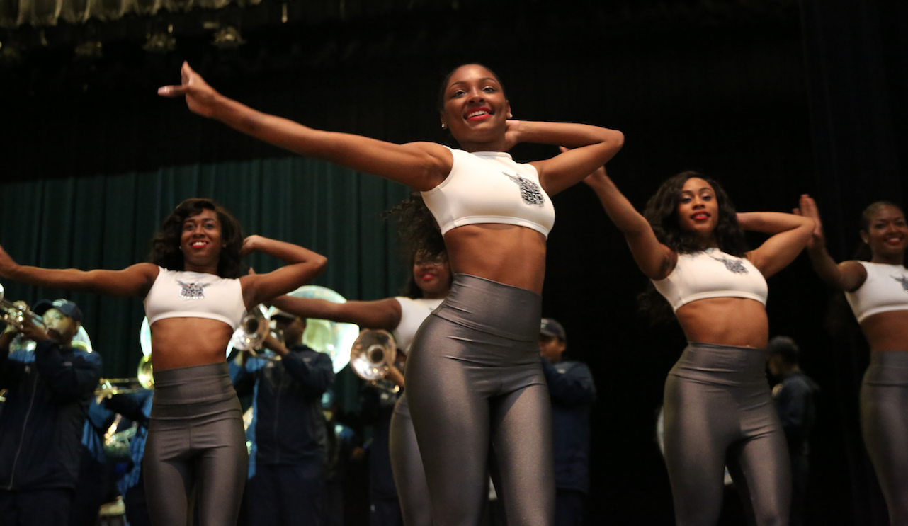 The Prancing J-Settes leave a lasting impression as they wow OSHS. (Photo by Spencer L. McClenty/JSU)