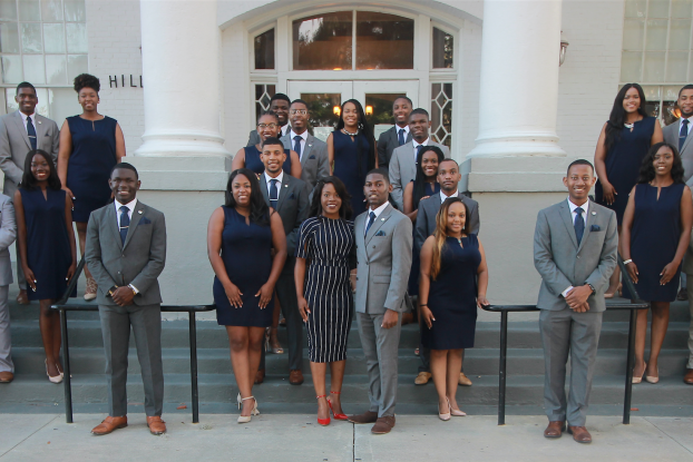 JSU student leaders from the National Pan Hellenic Council, Student Government Association, the Campus Activity Board and the Royal Court were nominated 'most impressive student delegation' at the 22nd Annual Student Leadership Institute hosted by the National Association of Student Affairs Professionals.  (Photo special to JSU)