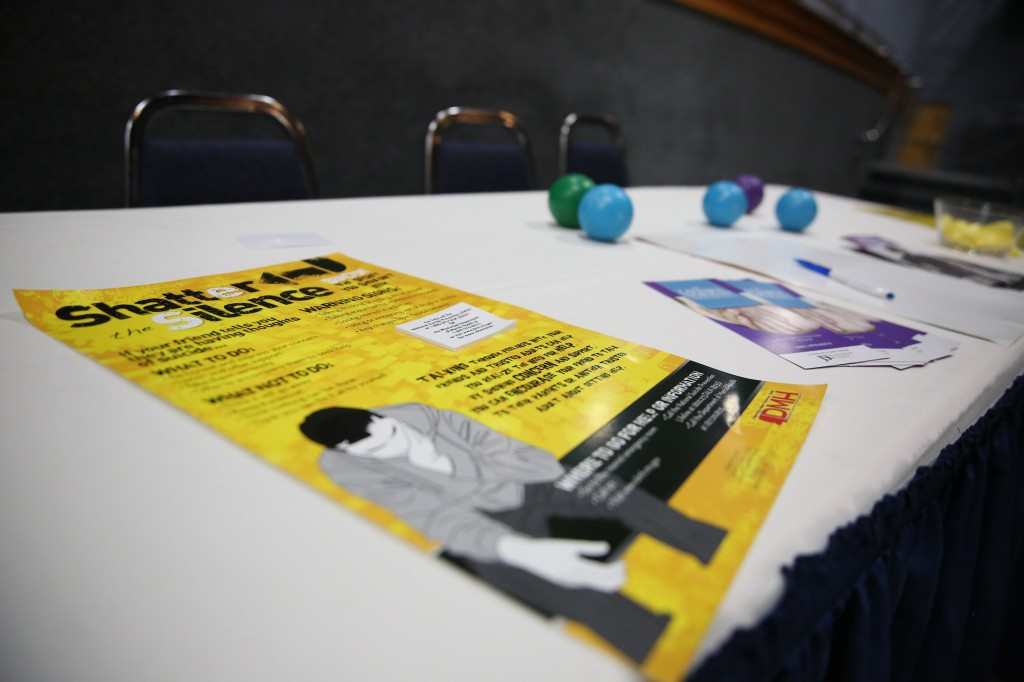 A Dose of Reality: Suicide Prevention Program, hosted by the Department of Student Affairs, OutSpoken Arts Collective, and the Latasha Norman Counseling Center wants to shatter the silence on suicide. (Photo by Kentrice S. Rush/JSU)
