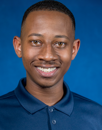 """Michael Ware, a senior sociology major says, """"I am looking forward to being inside of the White House. This will be an opportunity for all of the competiveness scholars to meet and create a unified agenda for HBCUs."""""""