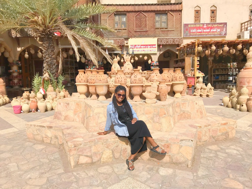 Kimberly Ratliff, JSU senior, said the best aspect of spending her summer studying in the Middle East was the scenery and the people. (Photo special to JSU)