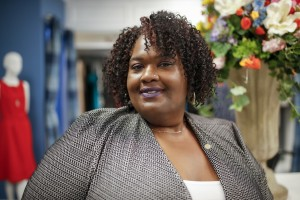 """My experience here at the Tiger Career Closet has been simply amazing,"" says Toni T. Holloway."
