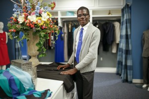 """The impact that the closet has made on me is phenomenal. The Tiger Career Closet actually goes the extra mile to make sure that JSU students have the proper attire for any occasion in a professional environment,"" Demarco McDonald said."