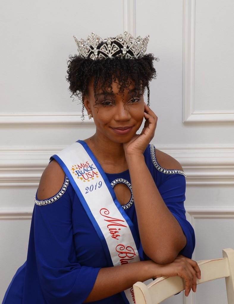 Zenovia Bradley, a special education major at JSU and graduating senior, won the title of Miss Black Mississippi USA 2019, after entering a pageant for the very first time. (Photo by Portrait Innovations)