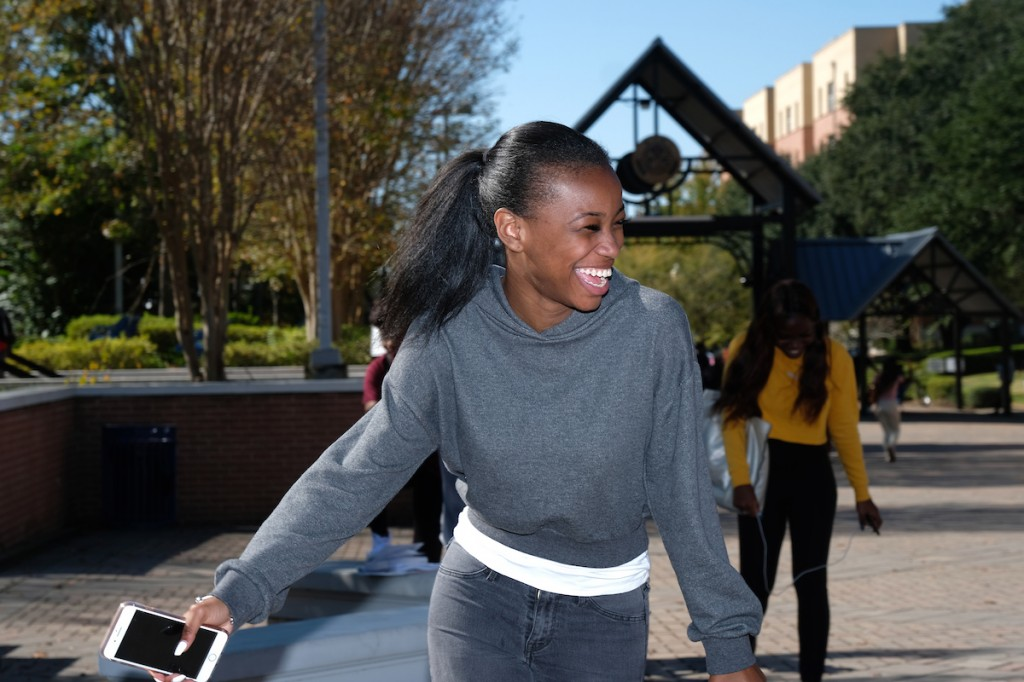 Exercising a basic yet important right brings much joy. (Photo by Charles A. Smith/JSU)