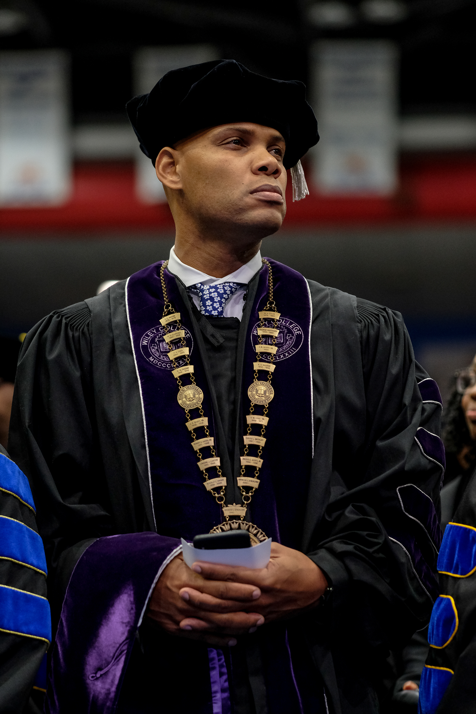"Wiley College President Herman James Felton Jr., graduated from Jackson State University's Executive Ph.D. Program on Friday. Wiley College's debate team inspired the 2007 film ""The Great Debaters"" directed by and starring Denzel Washington."