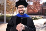 Ebrahim A. Al-Areqi is a graduating doctoral student in Computational and Data-Enabled Science and Engineering. He will receive his degree during commencement from the College of Science, Engineering and Technology. The ceremony will be Friday, Dec. 7, inside the Rose E. McCoy Auditorium. (Photo by Aron Smith/JSU)