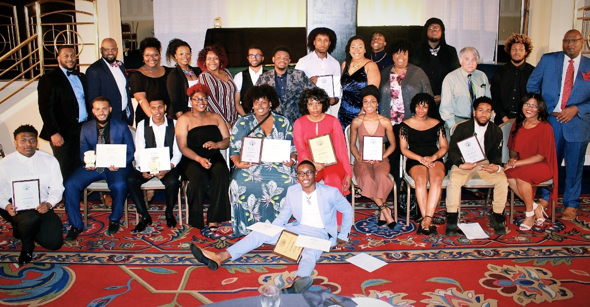 "MADDRAMA performance troupe took home more awards than any other school at this year's National Association of Dramatic and Speech Arts Conference. Dr. Nadia Bodie-Smith, associate professorand coordinator in theatre studies, said: ""To Be in the company of other theatre practitioners, especially those from our sister HBCUs was refreshing. Not only did our students get to network with professionals in the field, they also were afforded the opportunity to build relationships with other students who share their passion for the arts."" (Photo special to JSU)"