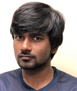Anthony Gomes is a graduate student in the College of Science, Engineering and Technology. He wrote the coding for the device and handled the smartphone applications.