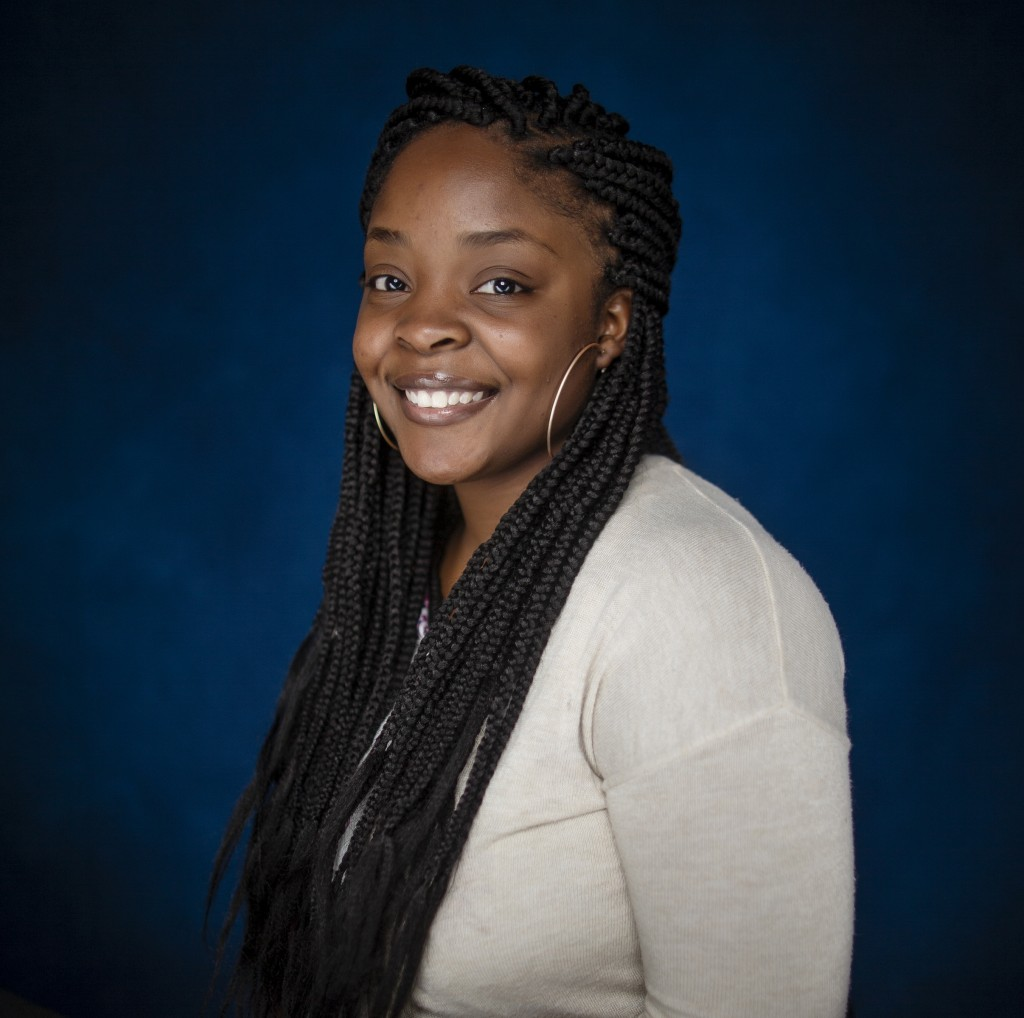 Kierra Jones wants to wipe out some of the health disparities throughout the Mississippi Delta and especially her hometown of Cleveland, Mississippi. She will advocate preventive measures when she eventually specializes in family medicine. (Photo by Charles A. Smith/JSU)