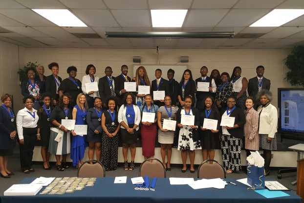 JSU's Phi Kappa Phi Honor Society chapter 188 inducted 64 new members: 58 students and five faculty members on March 27, 2019. (Photo special to JSU)